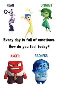 Emotions Poster - 12x18
