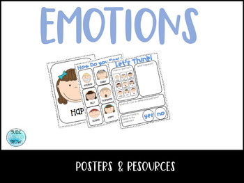 Emotions Poster and Activity