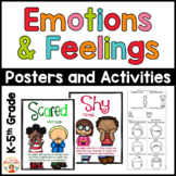 Emotions and Feelings Posters and Activities