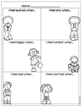 Feelings Posters and Activities
