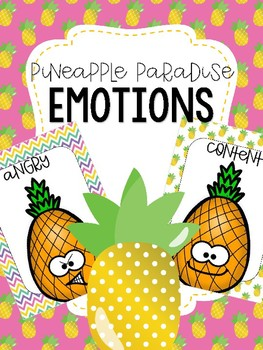 Emotions Posters - Pineapple Paradise