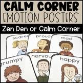 Emotion Posters for your Calm Corner or Zen Den