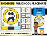 Emotions - Preschool Placemats
