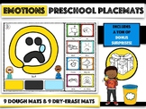 (Distance Learning) Emotions - Preschool Placemats