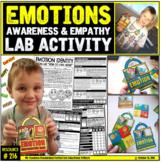 Emotions: Self-Awareness and Empathy Social Lab Activity (K-8)