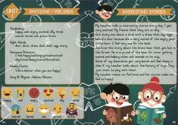 Emotions & Senses (Theme Learning)