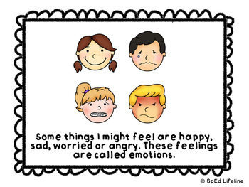Emotions Social Story