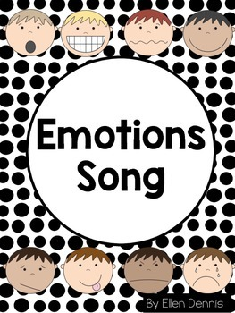 Emotions Song and Word Wall