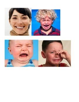 Emotions Sorting File Folder Activity
