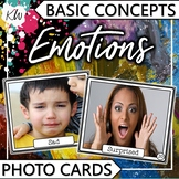 Emotions Speech Therapy Basic Concepts Photo Flashcards