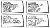 Emotions Station Cards (bilingual)