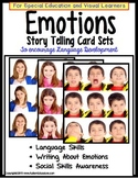 Emotions Story Telling Cards for Special Education/Language Development