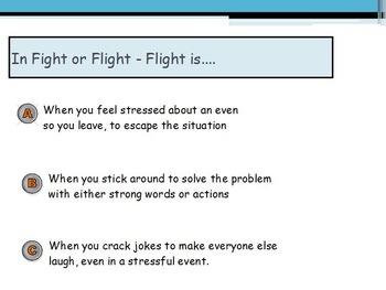 Emotions - Stress w/worksheet (SMART BOARD)