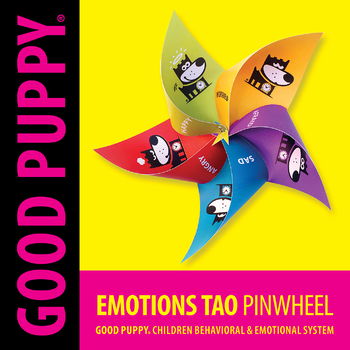 Emotions Tao Pinwheel Child Behavioral Emotional Tools By Good Puppy