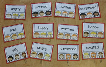 Emotions Task Cards