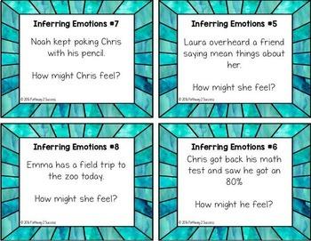 Emotions Task Cards