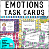 Emotions Task Cards - Distance Learning