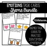 Emotions Task Cards Bundle   Social Emotional Task Cards Bundle
