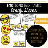 Emotions Task Cards   Social Emotional Task Cards   Emoji Themed