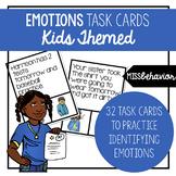 Emotions Task Cards   Social Emotional Task Cards   Kids Themed