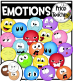 Emotions (The Price of Teaching Clipart Set)