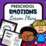Emotions Theme Preschool Lesson Plans -Feelings Activities