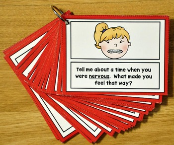 """Emotions """"Think and Chat"""" Cards"""