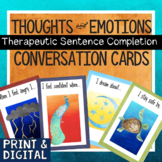 Feelings, Thoughts & Emotions Printable Cards & Digital Journal Prompts