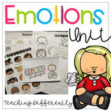 Emotions Unit - Great Unit for Distance Learning