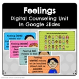 Emotions Unit - Interactive Google Slides for Distance Learning