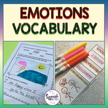 Emotions Vocabulary