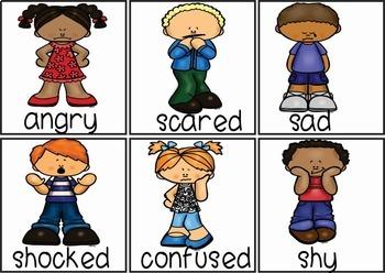 Emotions - Vocabulary Pack