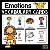 Emotions Vocabulary Picture Cards