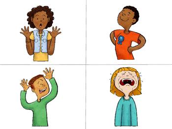 Emotions Vocabulary Word Wall – ESL Emotions Vocabulary