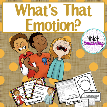 Emotions: What's That Emotion?