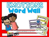 Emotions Word Wall