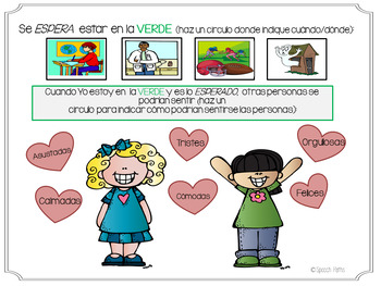 Emotions Workbook: What Color Are My Feelings? Elementary--Spanish Version
