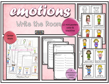 Emotions Write the Room