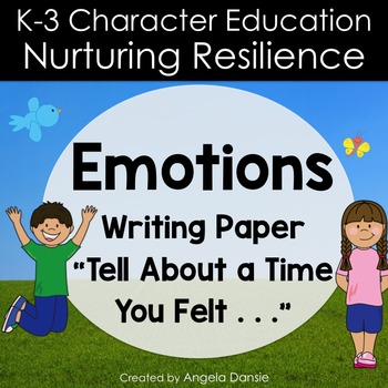 Emotions Writing Paper