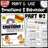 Emotions and Behavior: discussion activities {Self-awarene