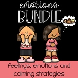 Emotions and Calming Strategies BUNDLE