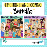 Emotions and Coping Strategies Clipart Bundle