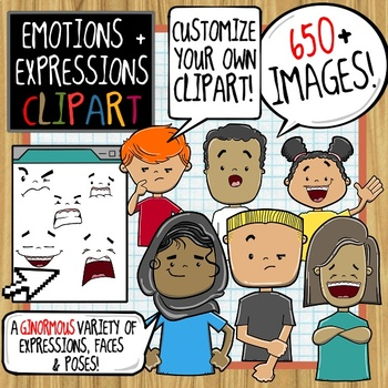 Emotions and Expressions ClipArt