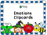 Emotions and Expressions Matching Clipcards