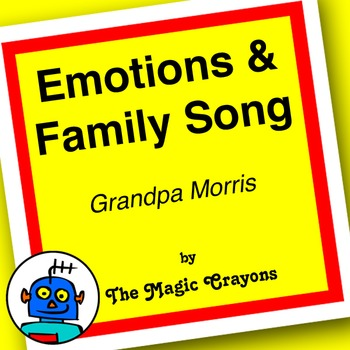 Emotions and Family Song (Grandpa Morris) by The Magic Crayons - MP3