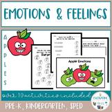 Social Skills -Emotions and Feelings Activities - Apples