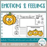 Social Skills- Emotions and Feelings Activities - Pumpkins