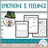 Emotions and Feelings Activities - Snowmen