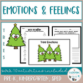 Social Skills -Emotions and Feelings Activities - Trees (Holiday)