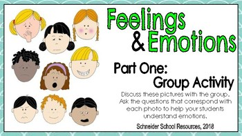 Emotions and Feelings: Activity Centers for Early Learners